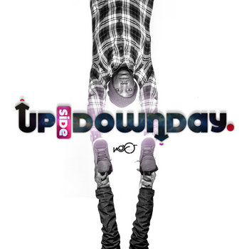 UpSideDownDay. Tapemix cover art
