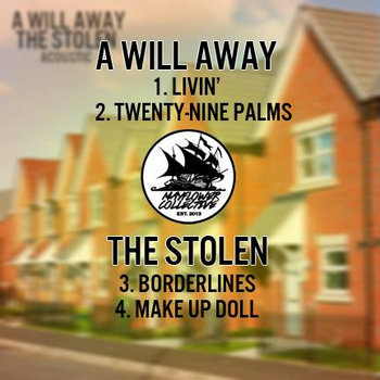 The Stolen/A Will Away Acoustic Split cover art