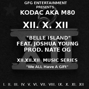 X.XII Belle Island feat. Jashua Smith prod. Nate OG cover art
