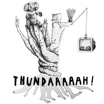THUNDAAAAAH! on tape