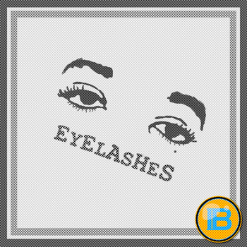 Eyelashes cover art