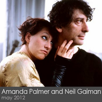 Amanda Palmer and Neil Gaiman cover art