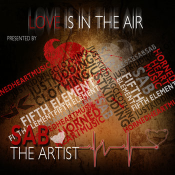 Love is in the air cover art