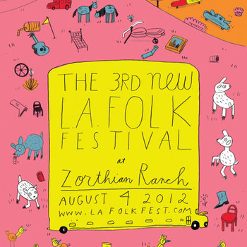 The 3rd New L.A. Folk Fest cover art