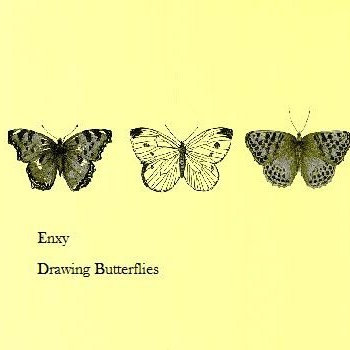 Drawing Butterflies EP cover art