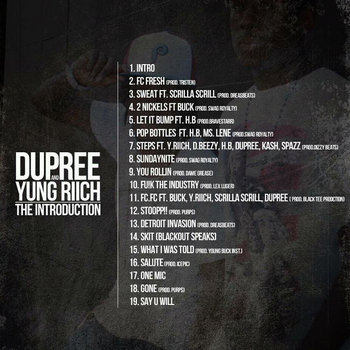 Dupree And Yung Riich: The Introduction cover art