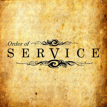 Order of service cover art