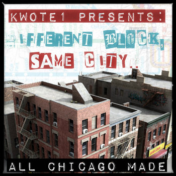 Kwote1 Presents: Different Block, Same City.. cover art