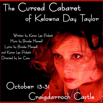 Music from The Cursed Cabaret of Kelowna Day Taylor cover art