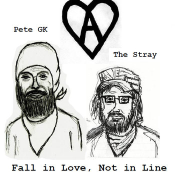 Fall in Love, Not in Line (The Stray/Peter Rottentail Split) cover art