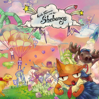 Keiko Takamura and the Shebangs EP cover art