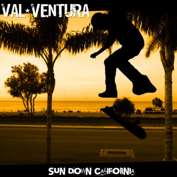 Sun Down California 7'' cover art