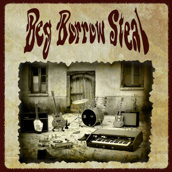 Beg Borrow Steal EP cover art