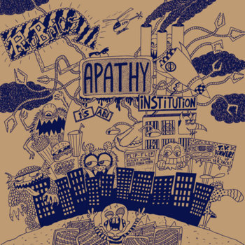 Apathy is an Institution cover art