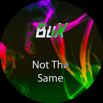 Not The Same - Single cover art