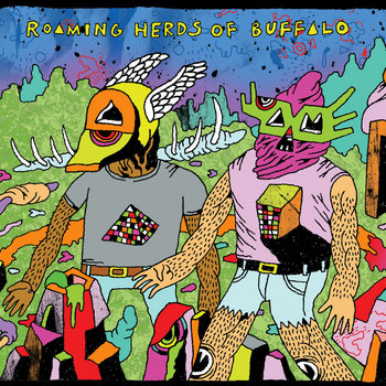 Roaming Herds of Buffalo cover art