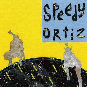 Speedy Ortiz - Ka-Prow! b/w Hexxy (single) cover art