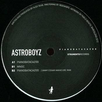 Astroboyz_Pianobatacazoo EP_STR001 cover art