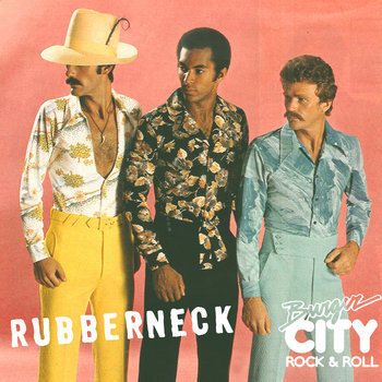 Rubberneck/Burger City SXSW Sampler cover art