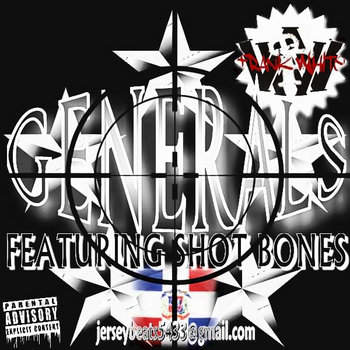 GENERALS ft. Shot Bonez prod. JerseyBeats cover art