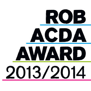 Rob Acda Award 2013/2014 cover art