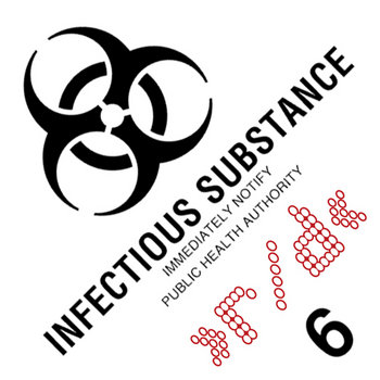 Infectious Substance EP cover art