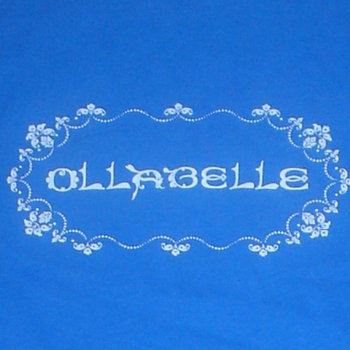 """ollabelle"" men's XL tee (blue) cover art"
