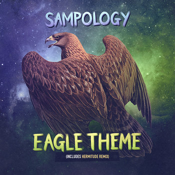 Eagle Theme limited edition 7 inch vinyl including Hermitude remix cover art