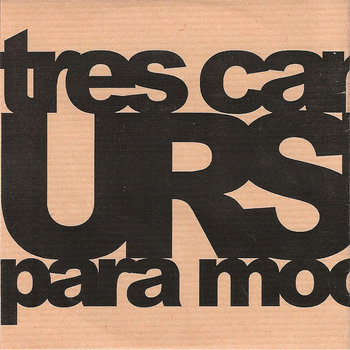 "mr005 - ""tres canciones para moonpalace"" cover art"