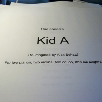 Radiohead's Kid A : Re-imagined cover art