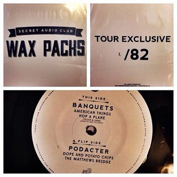 Wax Packs #7 - Podacter/Banquets cover art