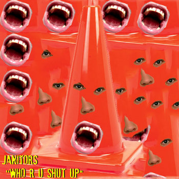 """WHO R U SHUT UP"" cover art"
