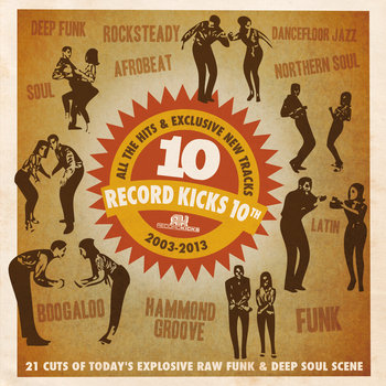 Record Kicks 10th cover art