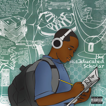 The MisEducated Scholar L.P. cover art