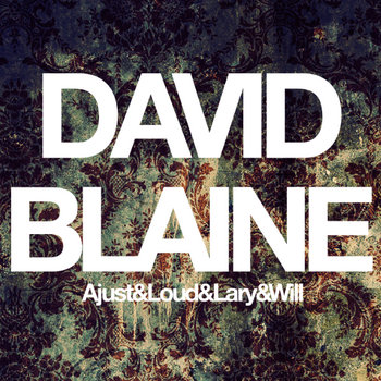 David Blaine cover art