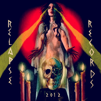 Relapse Sampler 2012 cover art
