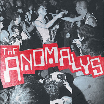 "THE ANOMALYS ""self-titled"" LP cover art"