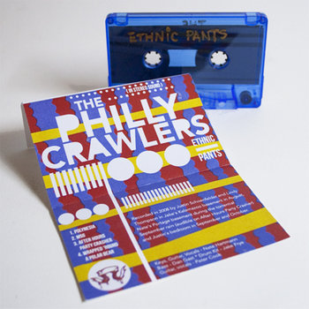 AD008  The Philly Crawlers  'Ethnic Pants' cover art