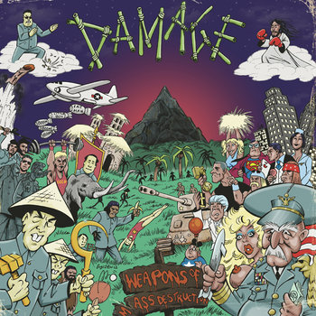 "Damage - Weapons of Mass destruction 12"" cover art"
