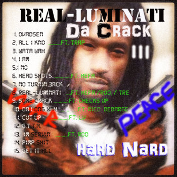 DA CRACK 3:   REAL-LUMINATI cover art