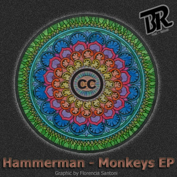 Hammerman - Monkeys EP cover art