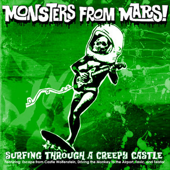 Surfing Through a Creepy Castle cover art