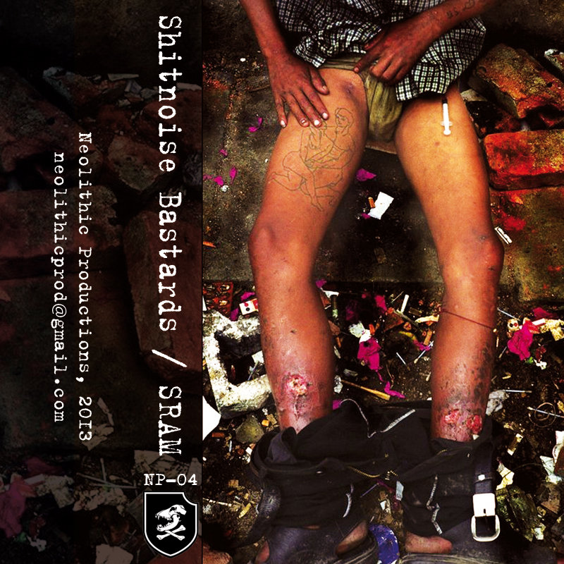 SRAM & Shitnoise Bastards - Split (2013)