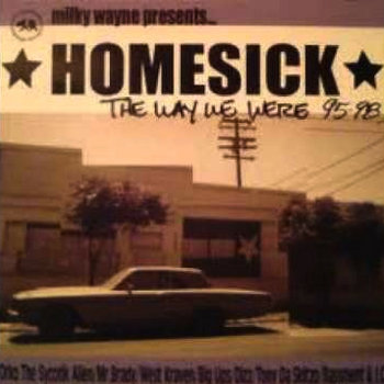 "HomeSick ""The Way We Were 95-98"" cover art"