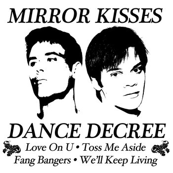 Dance Decree / Light Hearted split LP cover art