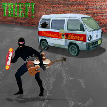 THIEF! Dinosaur Feathers Benefit Mixtape cover art