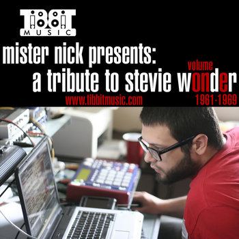 Mr. Nick presents: A tribute to Stevie Wonder Vol. 1 (1961-1969) cover art
