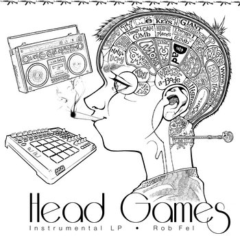 Head Games (Instrumental LP) cover art