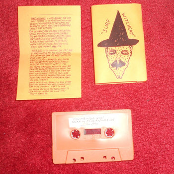 Halloween Cassingle - &quot;Surf Witchery&quot; cover art