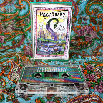 MEGA/BABY Split EP cover art